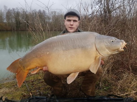 Les Quis Elf Lake 2017 44lb Mirror Carp