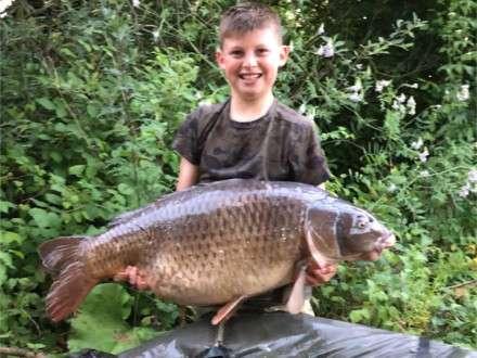Lewis McCready Les Quis June 2017 Old Lake Mirror Carp
