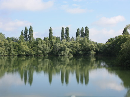 The Long Lake at Les Quis June 2014