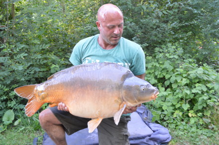 Dean Cook 54lb 8oz common at Les Quis