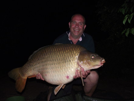 Large Mirror carp