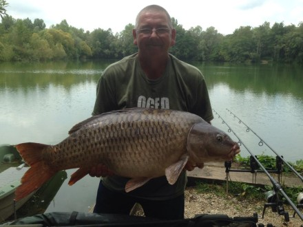 Glen with a 35lb Common