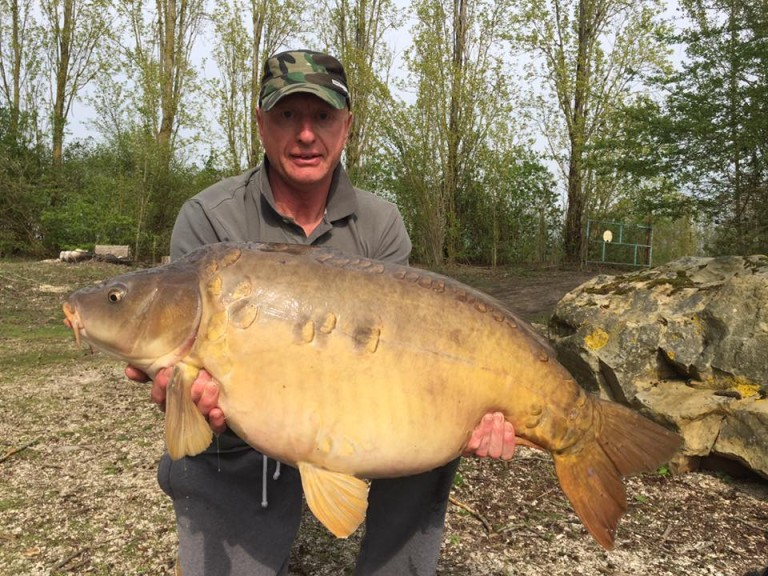 Peter Middleton 38lb Mirror Car